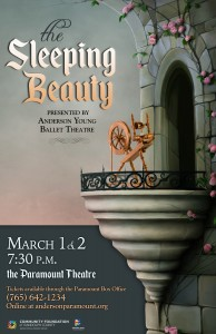 Sleeping Beauty 11 x 17 poster