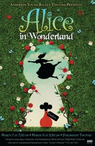 2020 Alice in Wonderland poster
