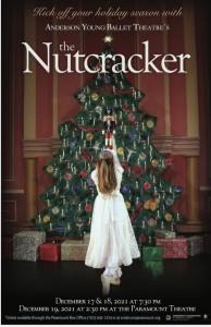 2021 Nutcracker poster